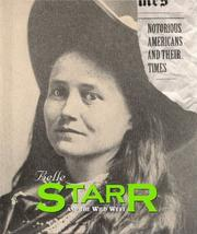 Cover of: Belle Starr and the Wild West