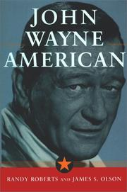 Cover of: John Wayne