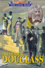 Cover of: Frederick Douglass | Helaine Becker
