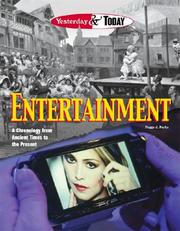 Cover of: Yesterday & Today - Entertainment (Yesterday & Today)