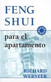 Cover of: Feng shui for apartment living