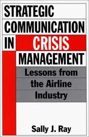 Cover of: Strategic communication in crisis management