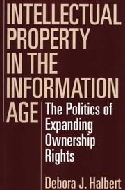 Cover of: Intellectual property in the information age