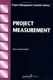 Cover of: Project Measurement (Labor and Social Change) | Steve Neuendorf