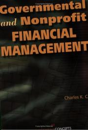 Cover of: Governmental and Nonprofit Financial Management | Charles K. Coe