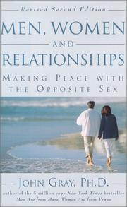 Cover of: Men, Women and Relationships