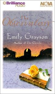 Cover of: Observatory, The (Nova Audio Books) | Emily Grayson