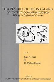 Cover of: The Practice of Technical and Scientific Communication | Jean A. Lutz