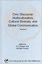 Cover of: Civic Discourse |