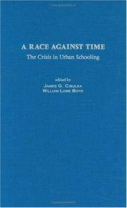 Cover of: A race against time |