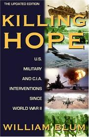 Cover of: Killing Hope | William Blum