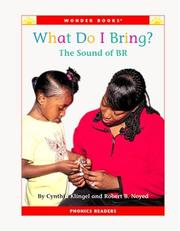 Cover of: What do I bring?