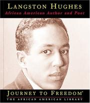 Cover of: Langston Hughes