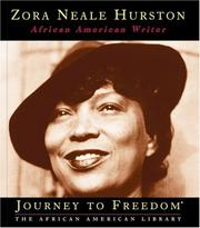 Cover of: Zora Neale Hurston