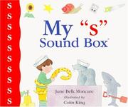 "Cover of: My ""s"" sound box by Jane Belk Moncure"