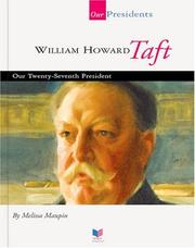 Cover of: William Howard Taft | Melissa Maupin