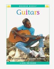 Cover of: Guitars (Wonder Books Level 1 Musical Instruments) | Cynthia Fitterer Klingel