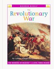 Cover of: The Revolutionary War