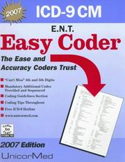 Cover of: Easy Coder ENT 2007