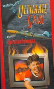 Cover of: Ultimate Game