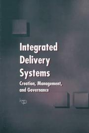 Cover of: Integrated delivery systems |