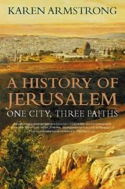 Cover of: History of Jerusalem