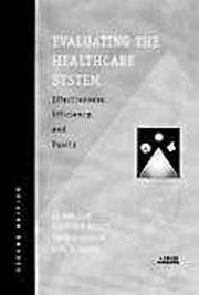 Cover of: Evaluating the Healthcare System