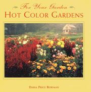 Cover of: Hot Color Gardens