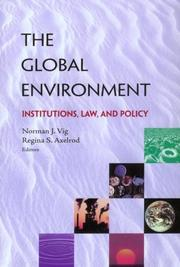 Cover of: The Global Environment |