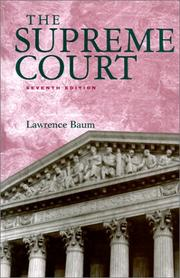 The Supreme Court by Lawrence Baum