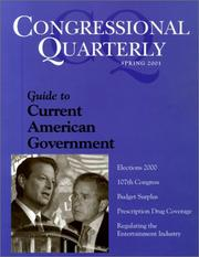 Cover of: Cq's Guide to Current American Government
