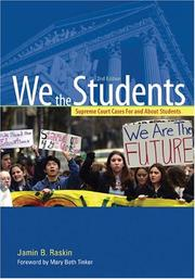 Cover of: We the students | Jamin B. Raskin