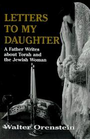 Cover of: Letters to my daughter
