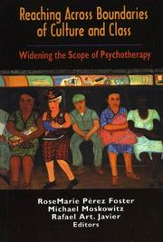 Cover of: Reaching Across Boundaries of Culture and Class | Perez-Foster Rosemarie