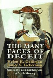 Cover of: The many faces of deceit