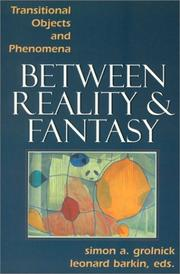 Cover of: Between Reality and Fantasy | Simon Grolnick