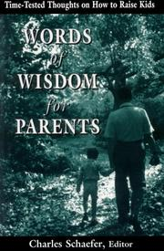 Cover of: Words of wisdom for parents