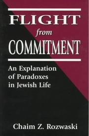 Cover of: Flight from commitment