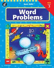 Cover of: Word Problems, Grade 3 | Kim Thoman