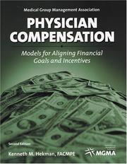 Cover of: Physician Compensation