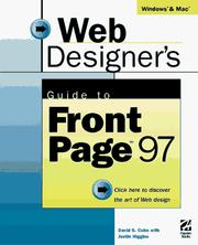 Cover of: Web designer's guideto Front Page 97