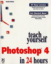 Cover of: Teach yourself Photoshop® 4 in 24 hours