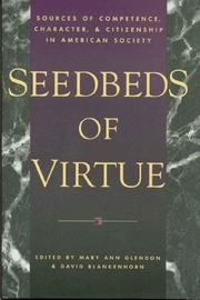 Cover of: Seedbeds of Virtue