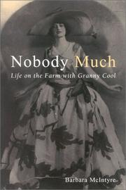 Cover of: Nobody Much | Barbara McIntyre