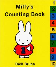 Cover of: Miffy's Counting Book (Miffy (Board Books))