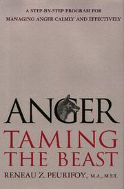Cover of: Anger: Taming the Beast