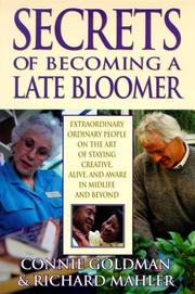 Cover of: Secrets of becoming a late bloomer