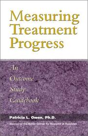 Cover of: Measuring Treatment Progress | Patricia L. Owen