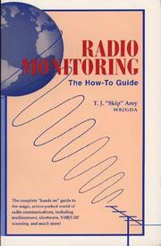 Cover of: Radio monitoring | T. J. Arey