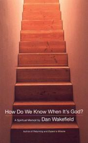 Cover of: How Do We Know When It's God?